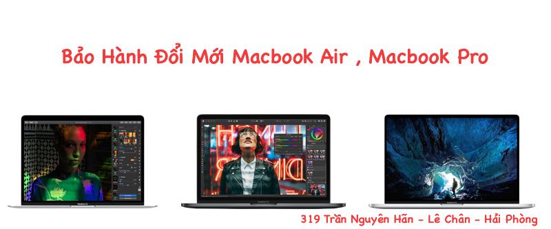 Bảo hành đổi mới Macbook