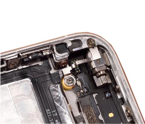 Sửa iPhone 5 mất rung