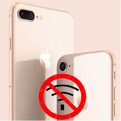 iPhone 8 mất sóng, không dịch vụ