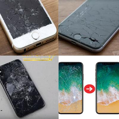 Ép kính, thay kính điện thoại iPhone, iPad, Macboo